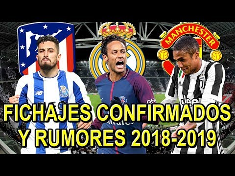 FICHAJES CONFIRMADOS Y RUMORES 2018-2019 | MERCADO DE INVIERNO