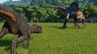 Indoraptor VS Spinosaurus - Jurassic World Evolution