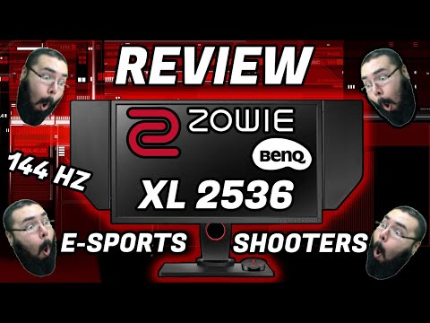 Review Monitor ZOWIE XL2536 Para Esports Y Shooters 144Hz