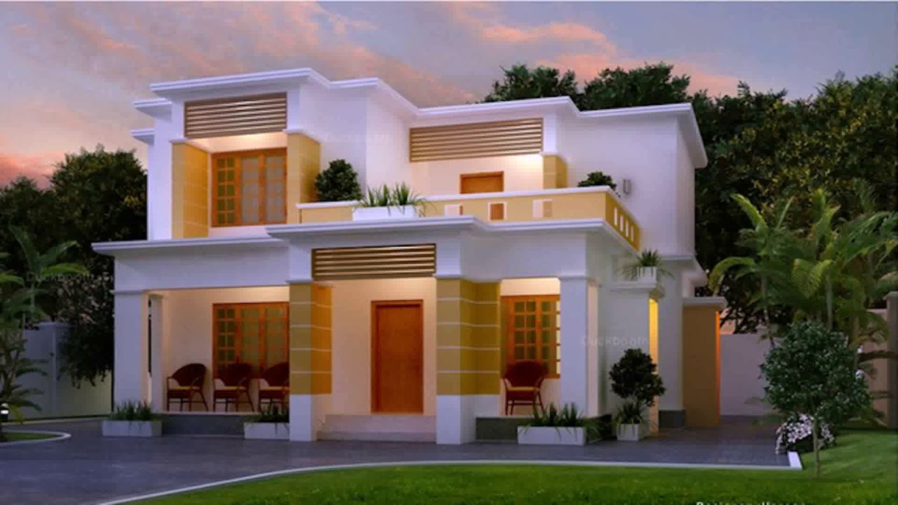 Indian Home Outside Colour Design Gif