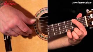 Видео урок: как играть песню The Long And Winding Road - The Beatles