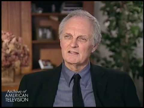 Alda describes working with and being influenced by actor Burgess Meredith with Naked City, and...
