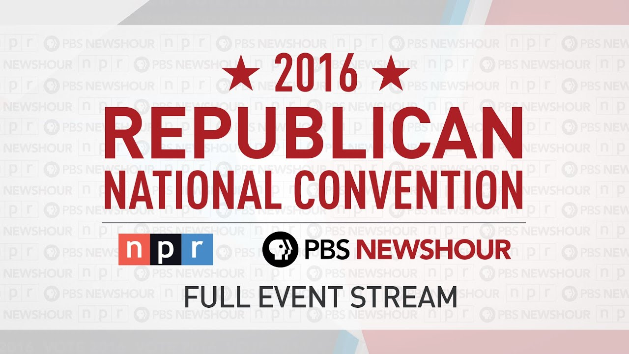 Full Republican National Convention - Day 3