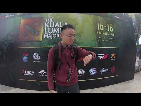 KL Majors 2018 .. for ALL DOTA MOBA Fans, Tour with MYC!'s Bryan!
