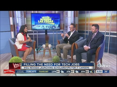 WGU Nevada offers IT scholarships