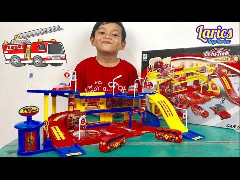 Mainan Mobil Pemadam Kebakaran Ini Bagus Tidak Sih??? Ada Kamen Rider 000 Yang Kemarin Tanya