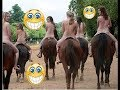 Funny Horses Vs Girls Fails Compilation 😂 Try Not To Laugh Challenge