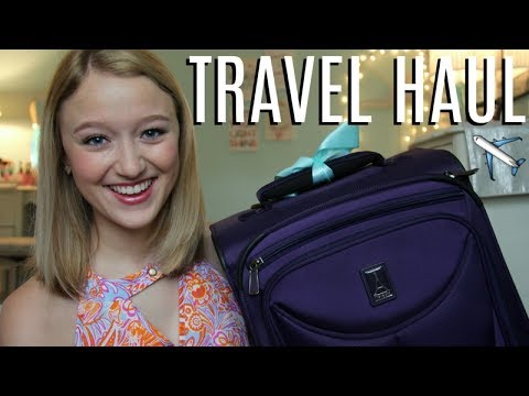 HUGE Pre-Travel & Study Abroad Haul || Traveling Essentials for Europe