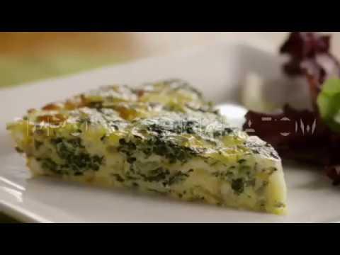 Классический пирог со шпинатом