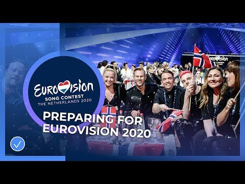 Preparing for Eurovision 2020 with Czech Republic and Norway 🇨🇿🇳🇴