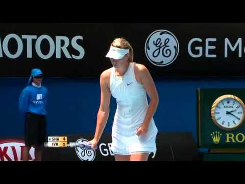 tennis.australian.open.womens.final.maria.sharapova.vs.ana.ivanovic