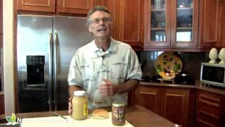 Almond Butter Sandwich Recipe - Healthy Alternative To Peanut Butter.