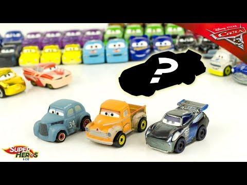 Disney Cars Mini Racers Wave 3 Blind Bags 8 12 14 River Scott Smokey Storm Metallic Toy Review