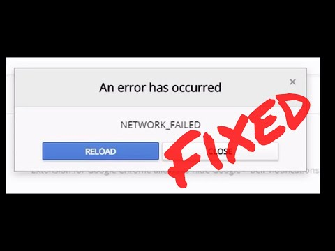 How To Fix Google Chrome Download Failed Network Error