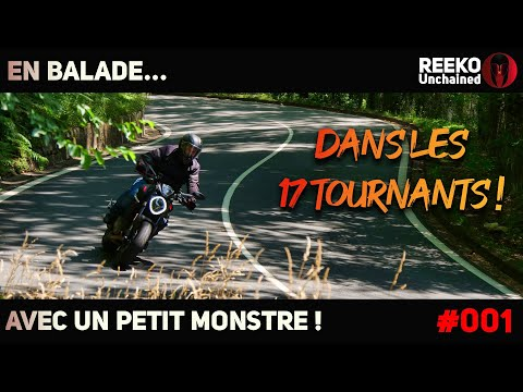 LES 17 TOURNANTS EN DUCATI MONSTER 2021   BALADE MOTO 🔴REEKO Unchained