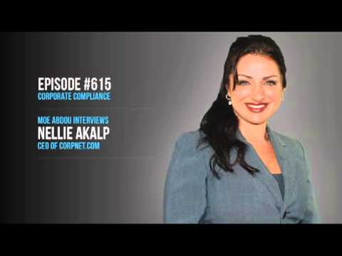 33voices (Ep 615): Corporate Compliance, with Nellie Akalp of CorpNet.com