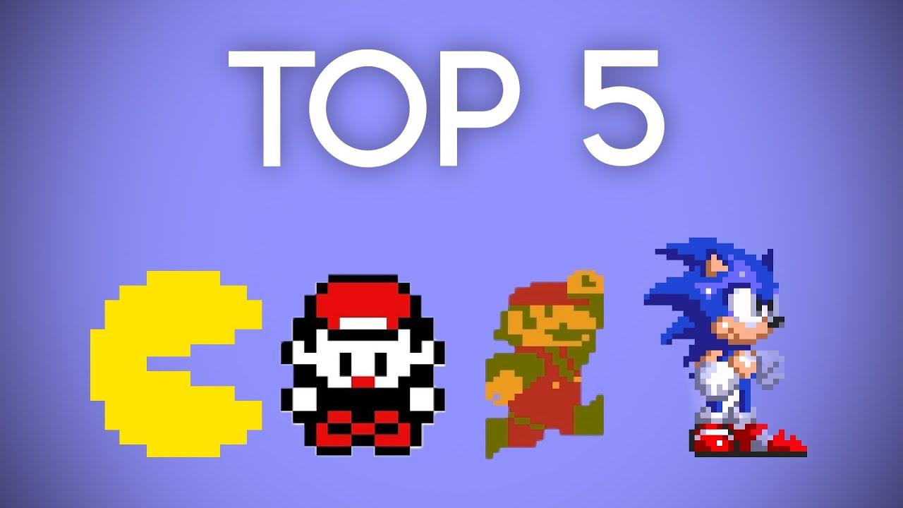 Top 5 Best Retro Games! - YouTube