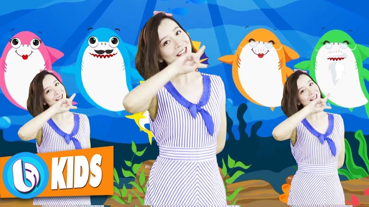 Baby Shark Dance + Nursery Rhymes & Kids Songs - Nhạc Thiếu Nhi Hay Nhất (Video 4K)