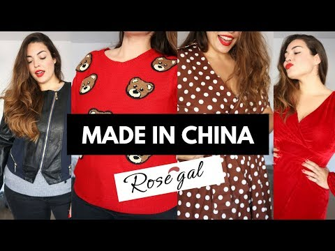 Probando Ropa China Para Tallas Grandes Haul Rosegal Y 11 Del 11 Pretty And Ole Youtube