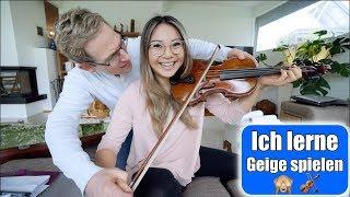1. Mal Geige spielen 🎻 Clara bekommt Malunterricht! Papi & Elisa Zeit | Familien VLOG | Mamiseelen