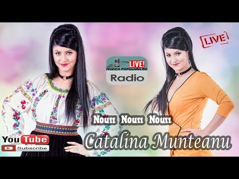 CATALINA MUNTEANU - LIVE 2018 COLAJ MUZICA DE PETRECERE HORA SI SARBA NOU
