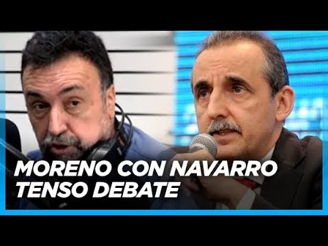 """Entre Massa y Cristina, elijo a Cristina sin dudas"" Tenso mano a mano de Moreno con Navarro"