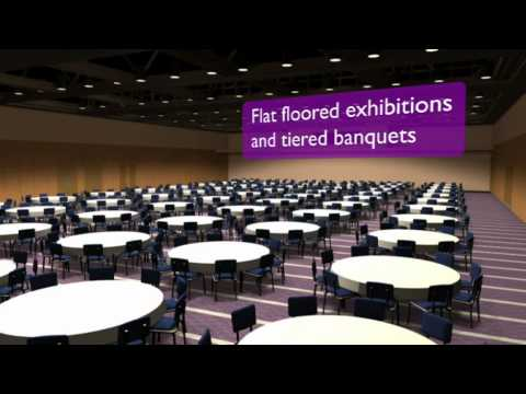 Edinburgh International Conference Centre - EICC - Expansion Animated Tour