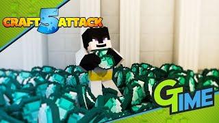 Der Diamanten Rausch beginnt - Craft Attack 5 #02 | Gamerstime