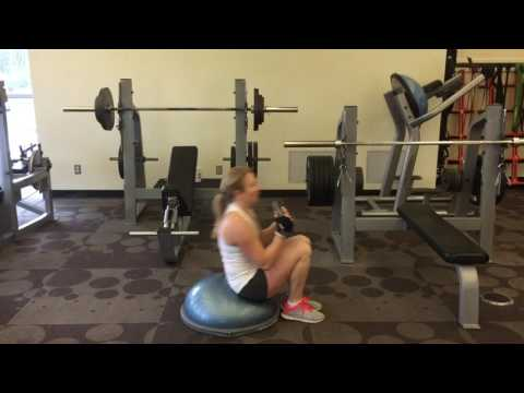 Abs with BOSU n 10lbs | FIT Nutrition