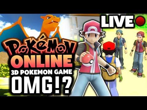 Pokemon MMORPG 3D - Pokemon Online Game - LIVESTREAM!?
