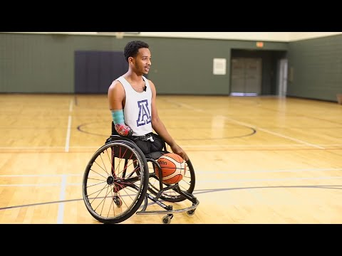 U Of A Wheelchair Basketball Player Overcomes Childhood Challenges To Thrive