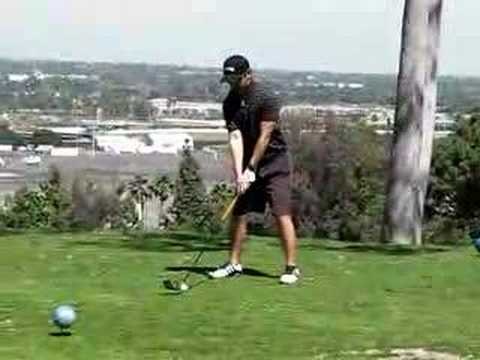 Alfred Amateur Golf Swing