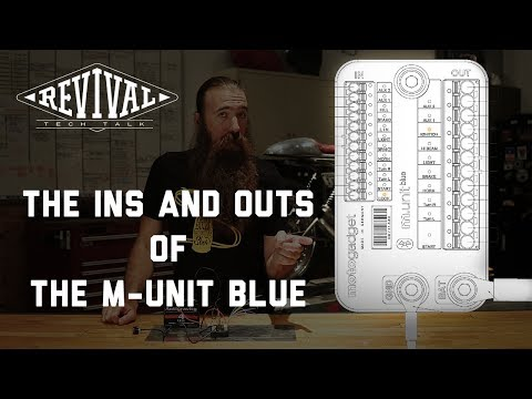 Revival Cycles' Tech Talk - The Ins and Outs of the Motogadget M-Unit Blue