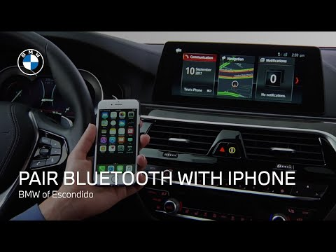 How to Pair Bluetooth on Your iPhone to a Non-iDrive BMW