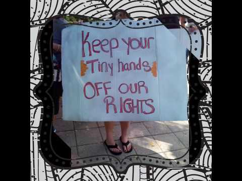 Women's March, West Palm Beach, Fl, ( 1-21-17)