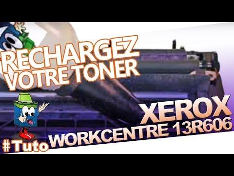 13R606 XEROX Toner Workcentre Pe120: Recharger Le Toner Facilement !