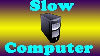 Why is my New Computer Running so Slow?
