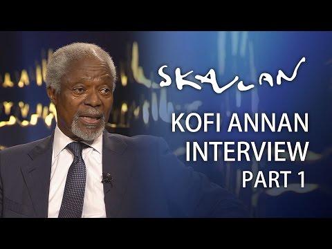 Kofi Annan | Part 1 | Skavlan