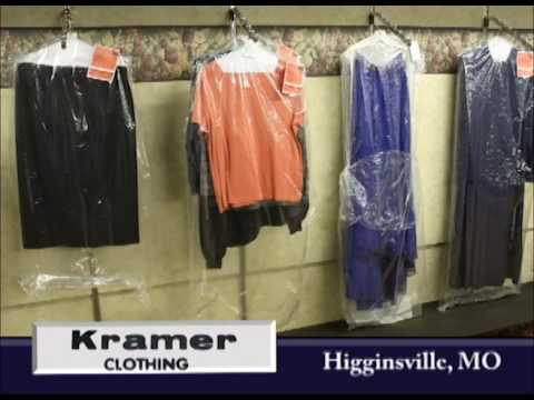 Higginsville Missouri's Kramer Clothing on Our Story's the Celebrities