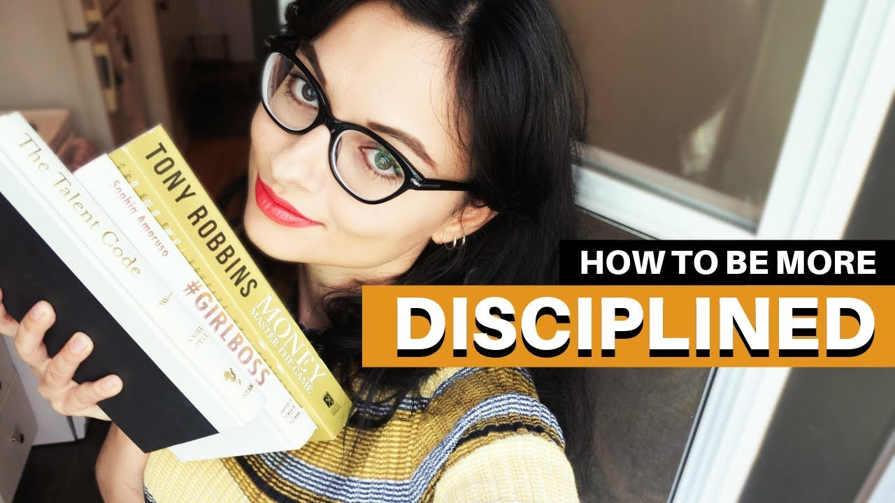 HOW TO BE MORE DISCIPLINED // Be Consistent & Keep Going - YouTube