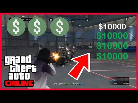 $$$ GTA 5 - Working 10k Per Kill Modded Capture Job!!! (link) READ DISCRIPTION!!! After Patch 1.42!!