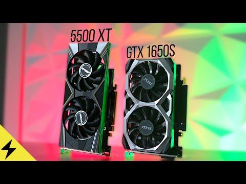 Best Graphics Card Under $200? - RX 5500 XT Vs GTX 1650 Super (2020)