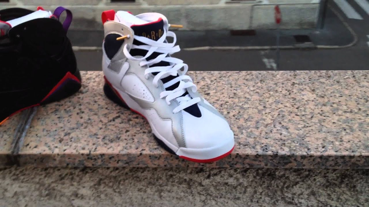 Air Jordan 7 Rapaces Olimpiadas
