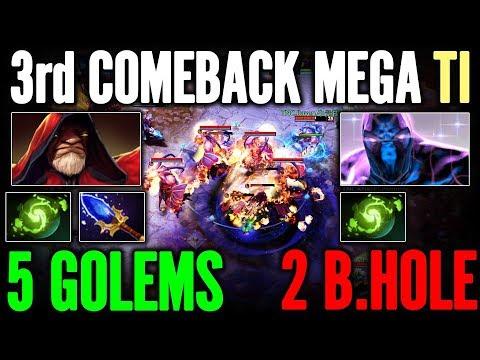 TOP COMEBACK TI 7 Golem vs BlackHole Infamous vs TNC Epic Gameplay Dota 2