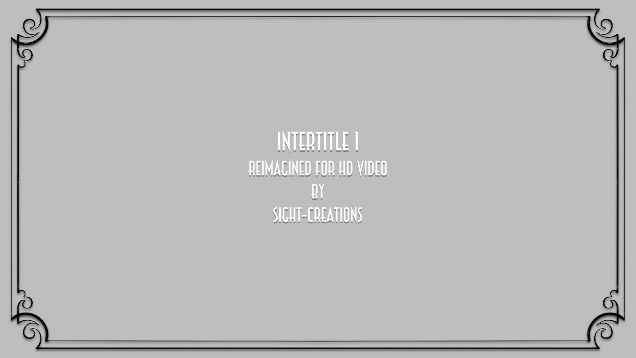 intertitle 1 — a final cut pro x generator (silent movie screen, Powerpoint templates