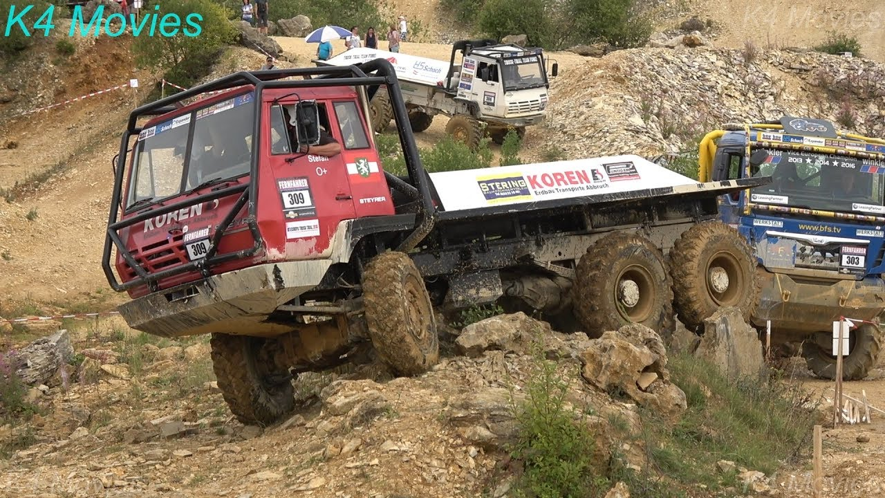6x6 Steyr truck in Europe truck trial | Off-Road | Langenaltheim, Germany  2018 | no  309