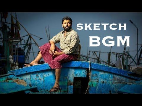 Sketch Full BGM | Vikram, Tamanna | S. S. Thaman