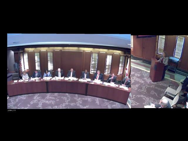 Board of trustees meeting 91119