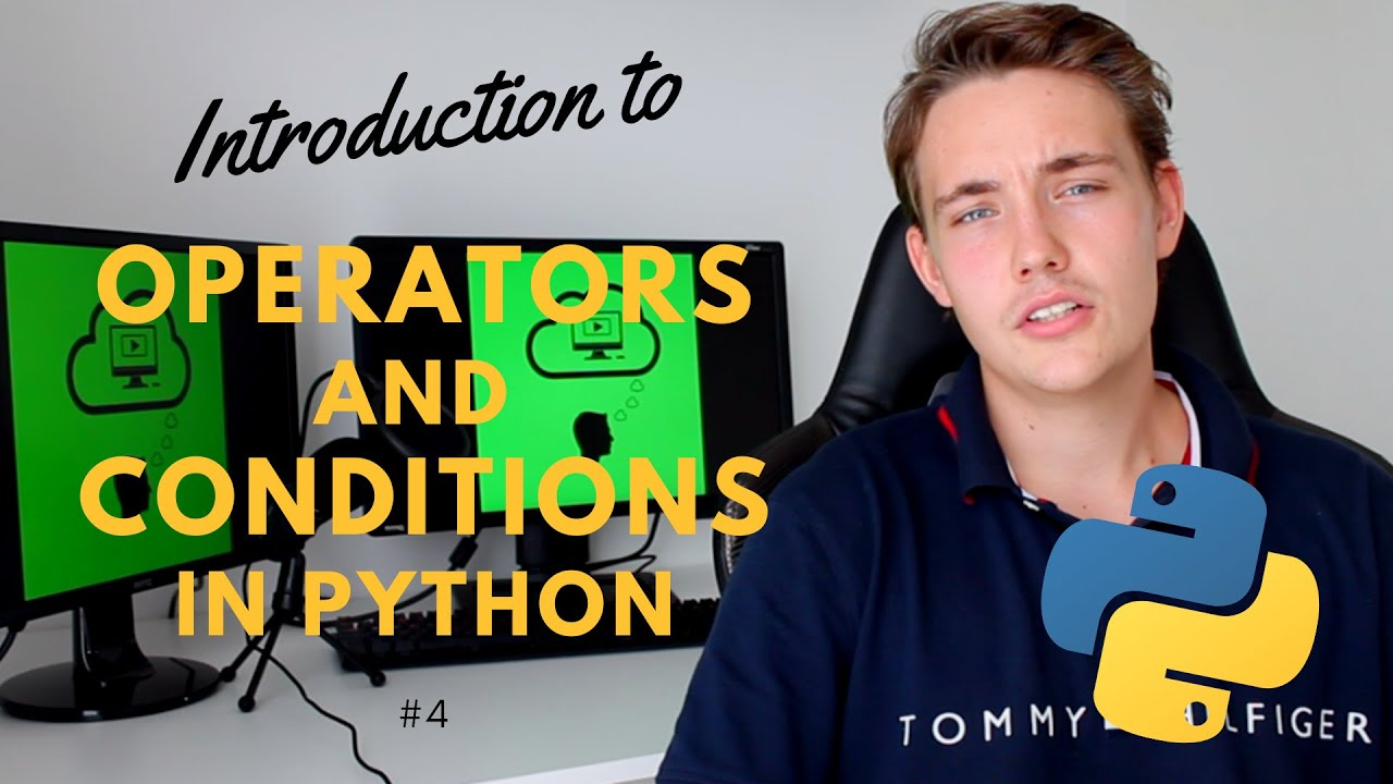 Operators and Conditions in Python