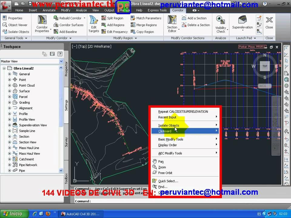 curso civil 3d 2012 144 videos secretos del civil 3d espa ol para rh youtube com tutorial autocad civil 3d 2012 bahasa indonesia tutorial civil 3d 2012